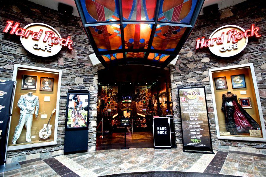 foxwoods casino hard rock cafe outside