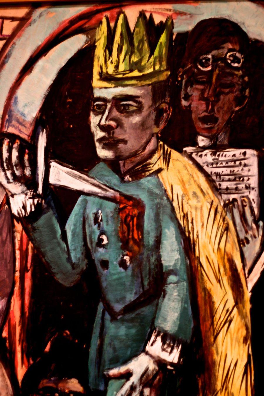 cambridge harvard art museum man in crown in painting