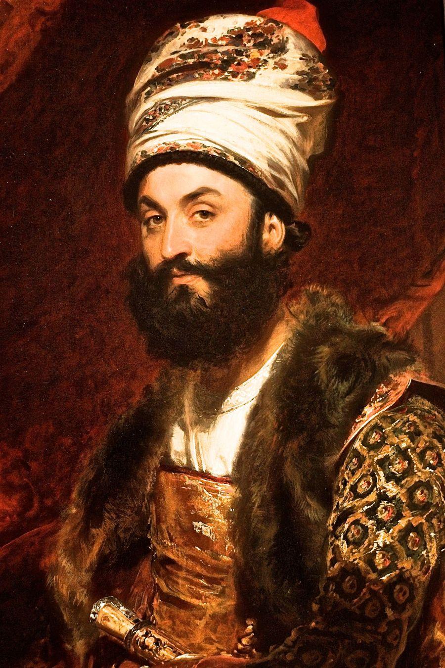 cambridge harvard art museum persian ambassador painting