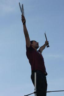 cambridge riverfest street performer 1