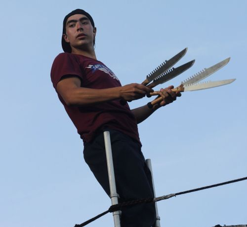 cambridge riverfest street performer 3
