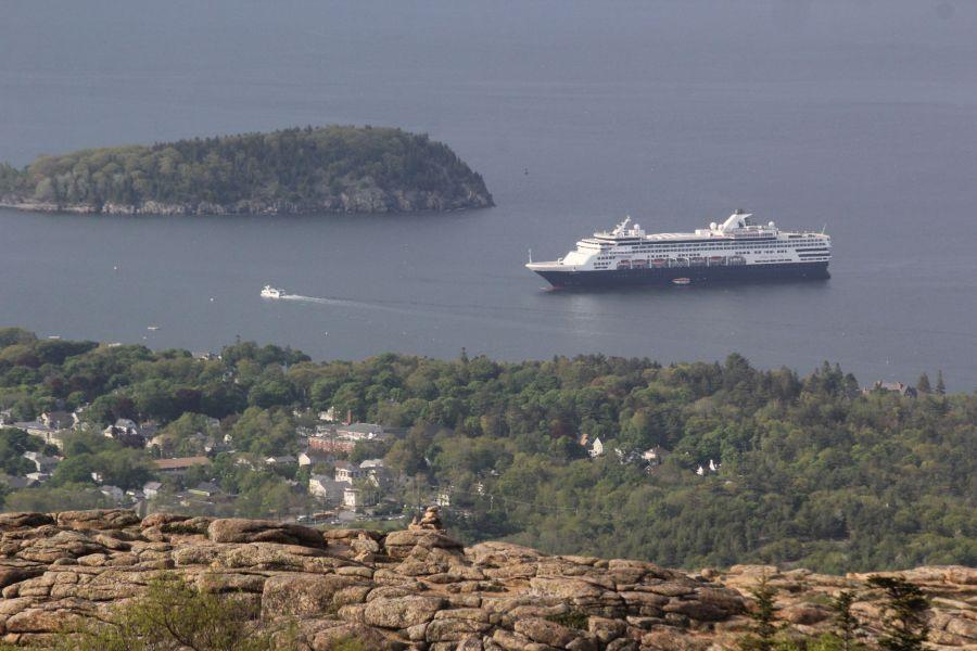 maine mount desert island cadillac mountain view ferry