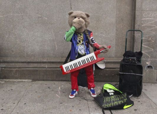 boston park street keytar bear purple jacket 1