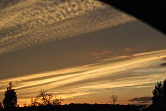 rhode island massachusetts drive sunset july 3 1