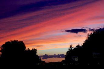 rhode island massachusetts drive sunset july 3 10