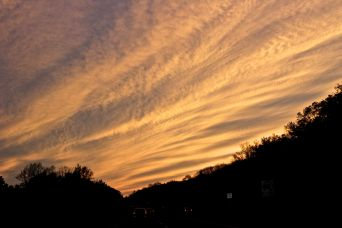 rhode island massachusetts drive sunset july 3 3