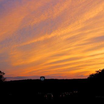 rhode island massachusetts drive sunset july 3 4