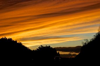 rhode island massachusetts drive sunset july 3 5