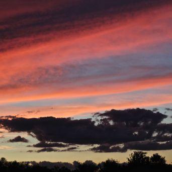 rhode island massachusetts drive sunset july 3 9