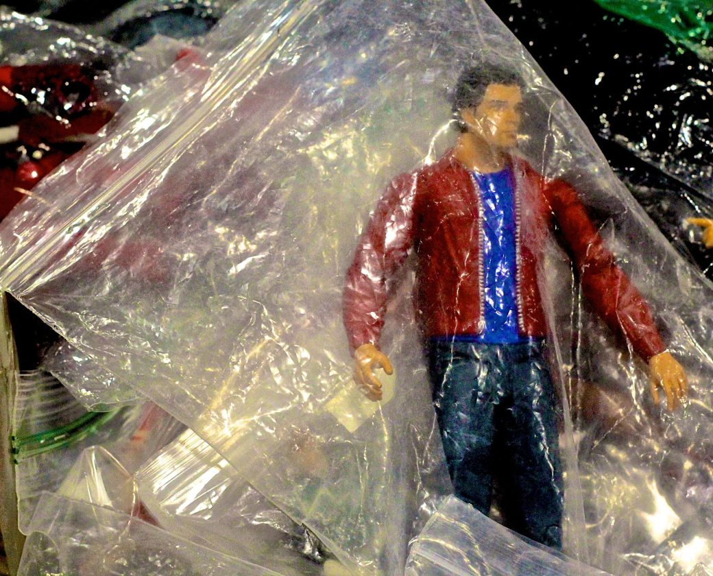 boston comic con august 12 2016 portrait action figure plastic bag