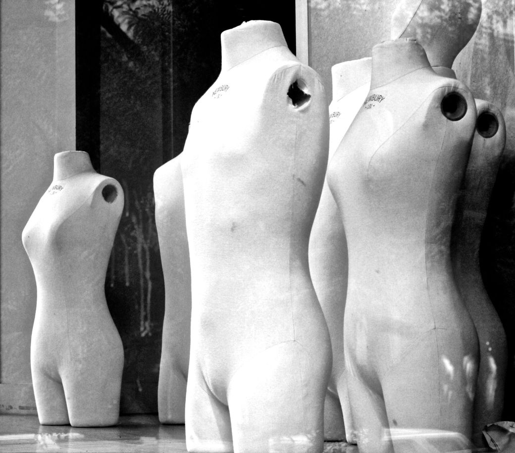 boston newbury street mannequins windows