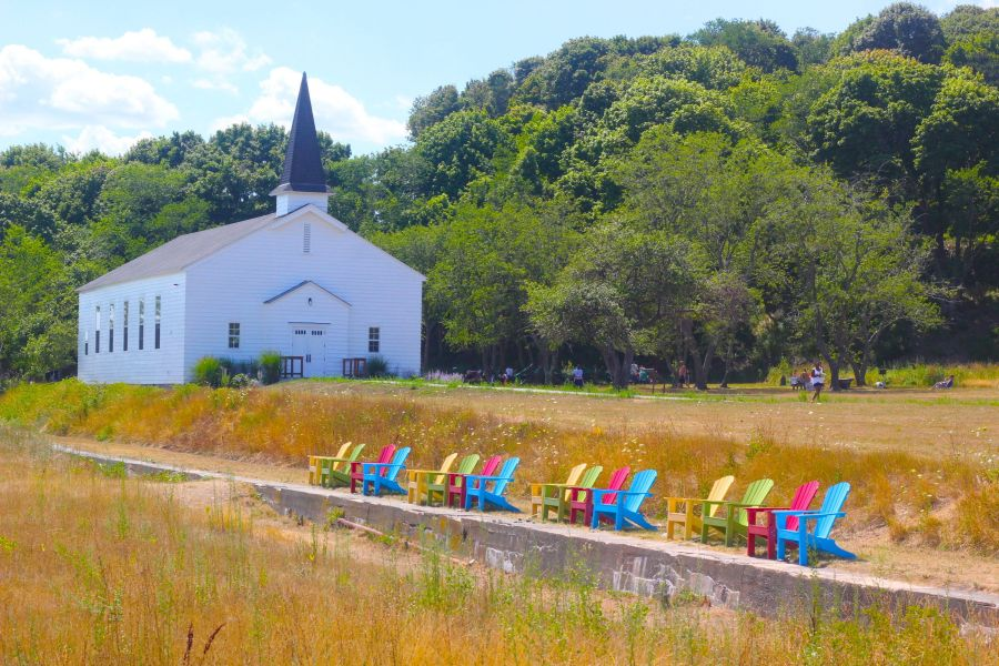 boston peddocks island chairs chapel