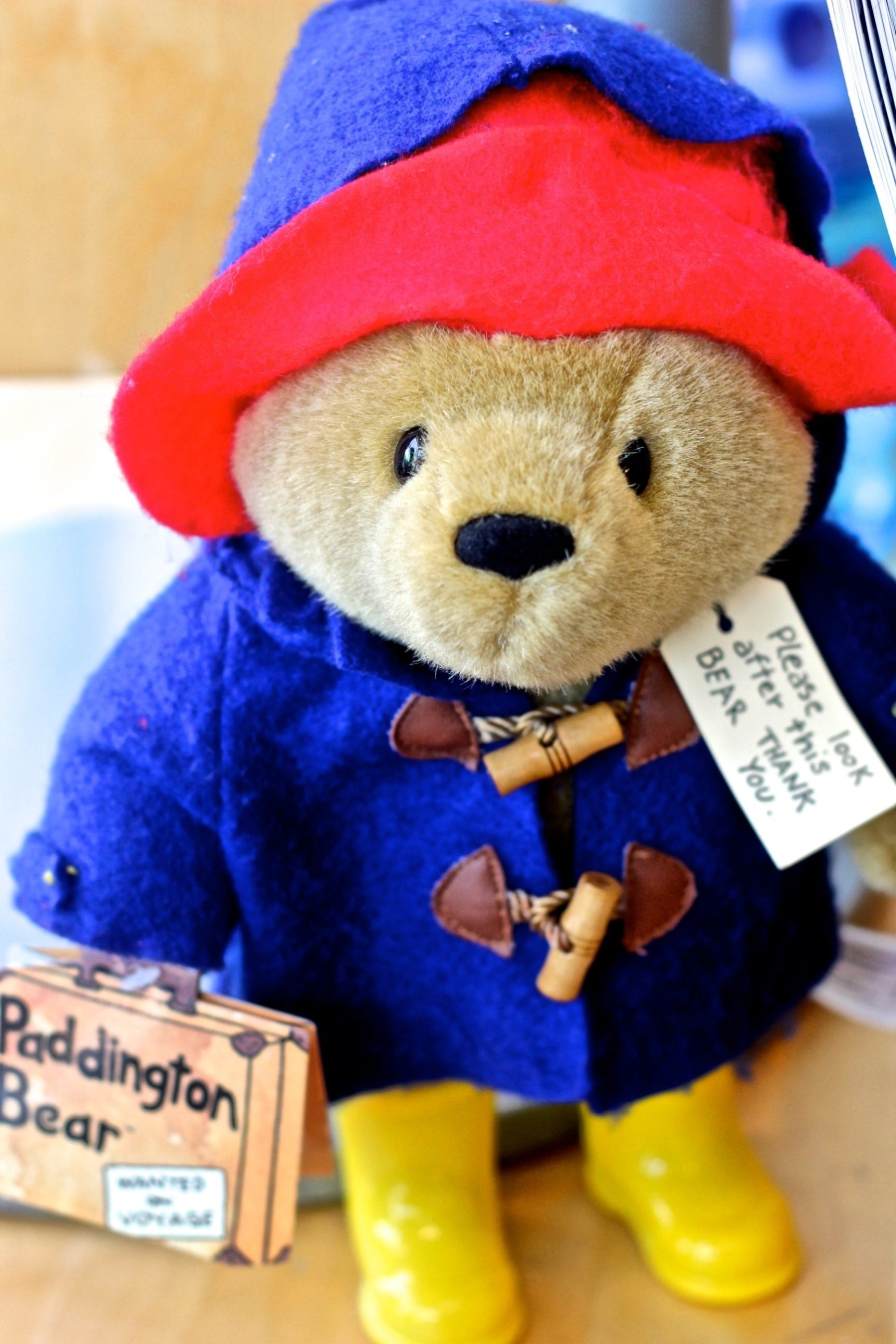boston childrens museum paddington bear