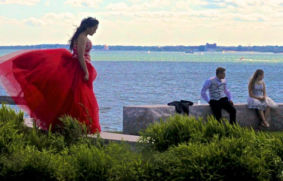 boston winthrop girl in red dress 1
