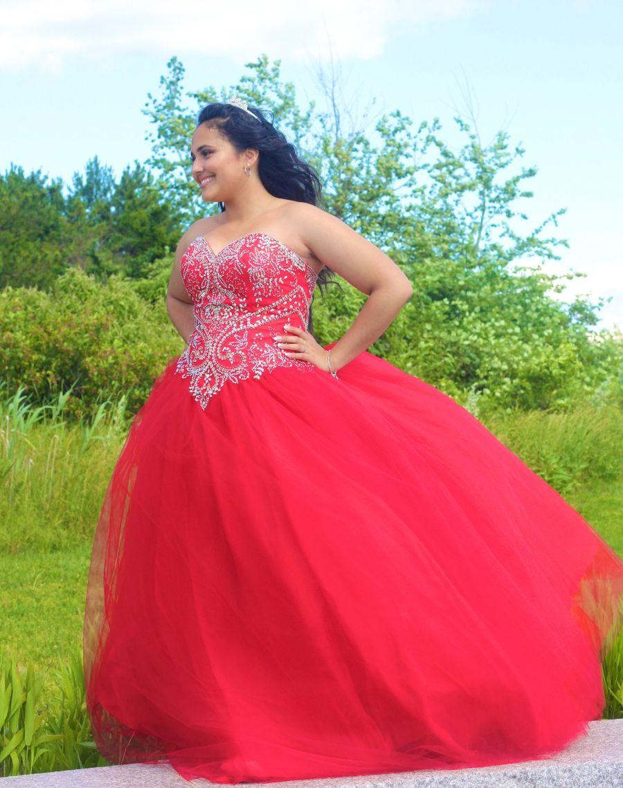 boston winthrop girl in red dress 3