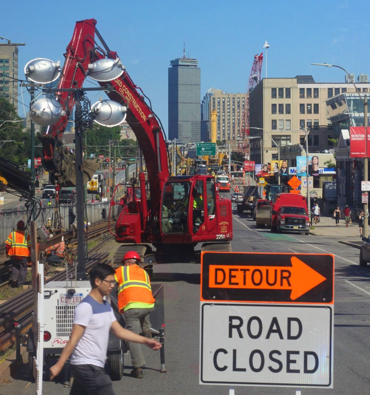 boston commonwealth avenue boston university bridge reconstruction 1