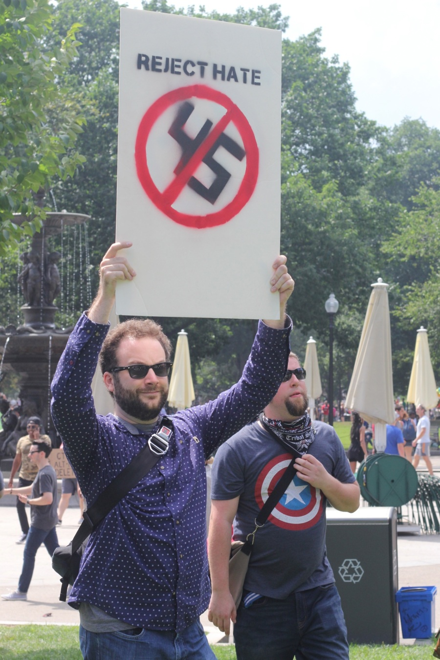 boston boston common anti free speech rally protest august 19 2017 5