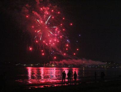 boston revere beach sand sculptures 2017 fireworks 11