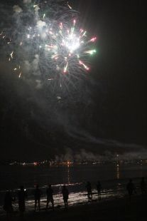 boston revere beach sand sculptures 2017 fireworks 15