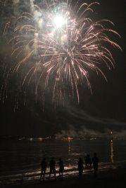 boston revere beach sand sculptures 2017 fireworks 17