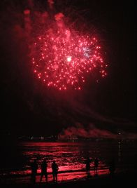 boston revere beach sand sculptures 2017 fireworks 18