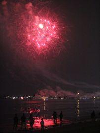 boston revere beach sand sculptures 2017 fireworks 19