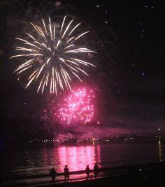boston revere beach sand sculptures 2017 fireworks 22