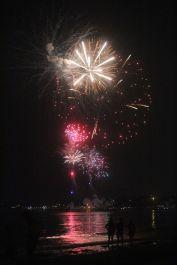 boston revere beach sand sculptures 2017 fireworks 3