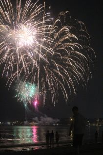 boston revere beach sand sculptures 2017 fireworks 6
