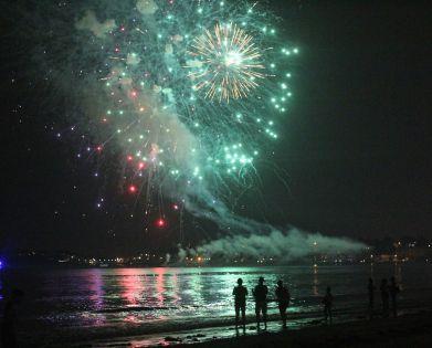 boston revere beach sand sculptures 2017 fireworks 8