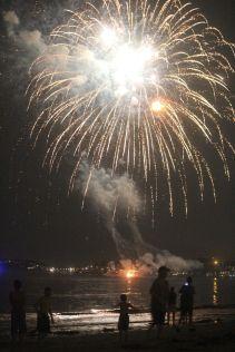 boston revere beach sand sculptures 2017 fireworks 9