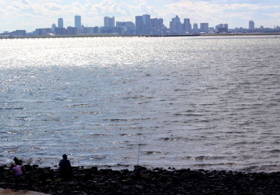 boston winthrop man fishing