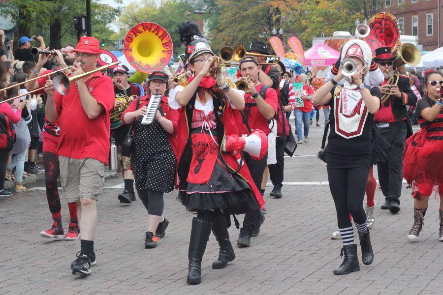 boston honkfest october 8 parade 2