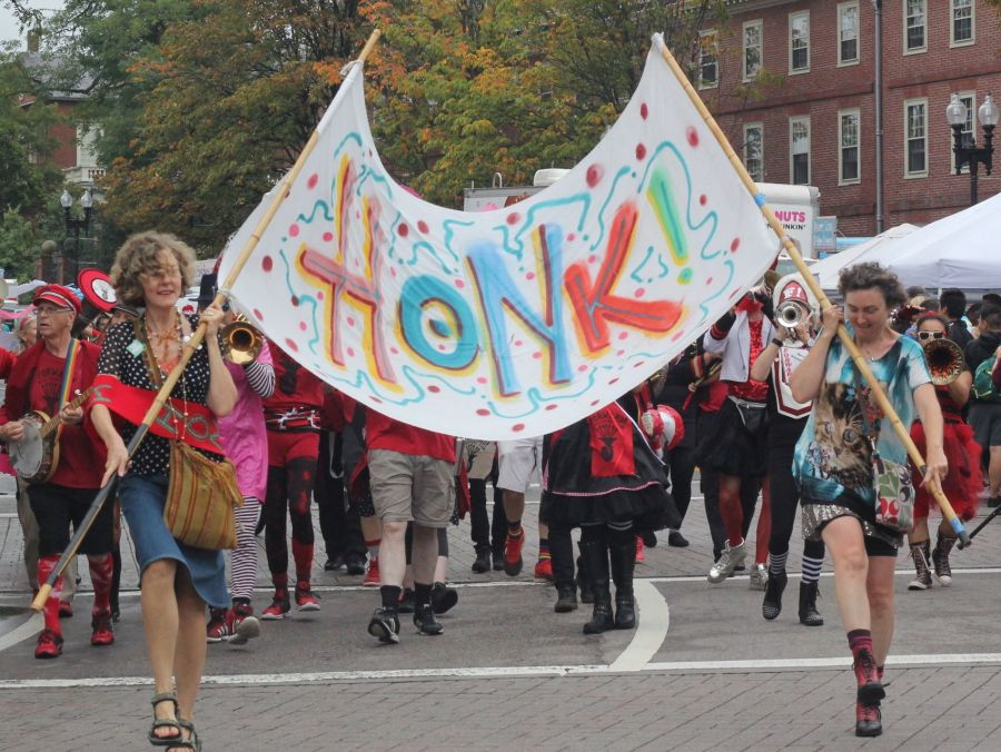 boston honkfest october 8 parade
