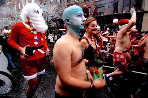 boston santa speedo run december 9 2017 10