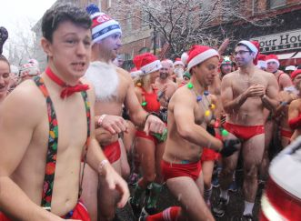 boston santa speedo run december 9 2017 8