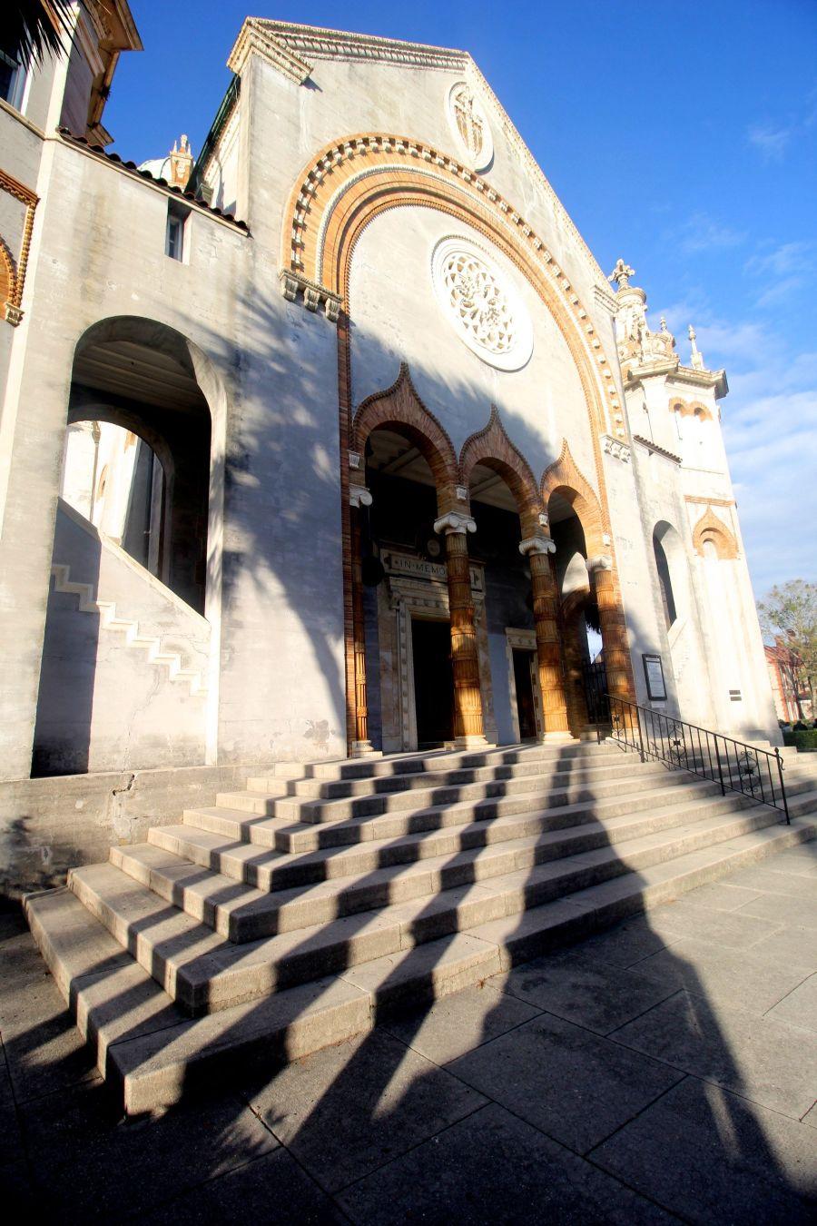 st augustine historical district greek church shadows