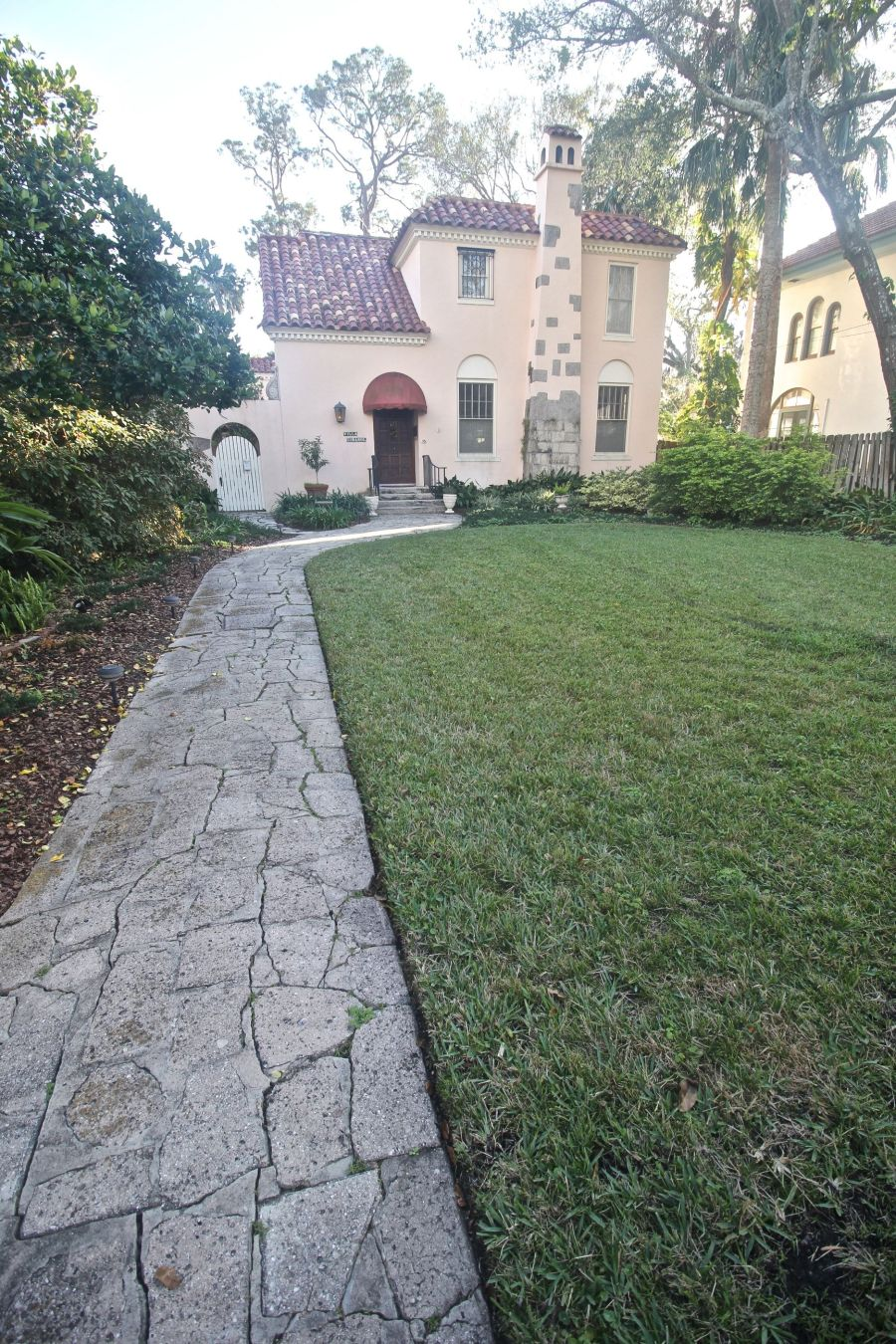 st augustine historical district house path
