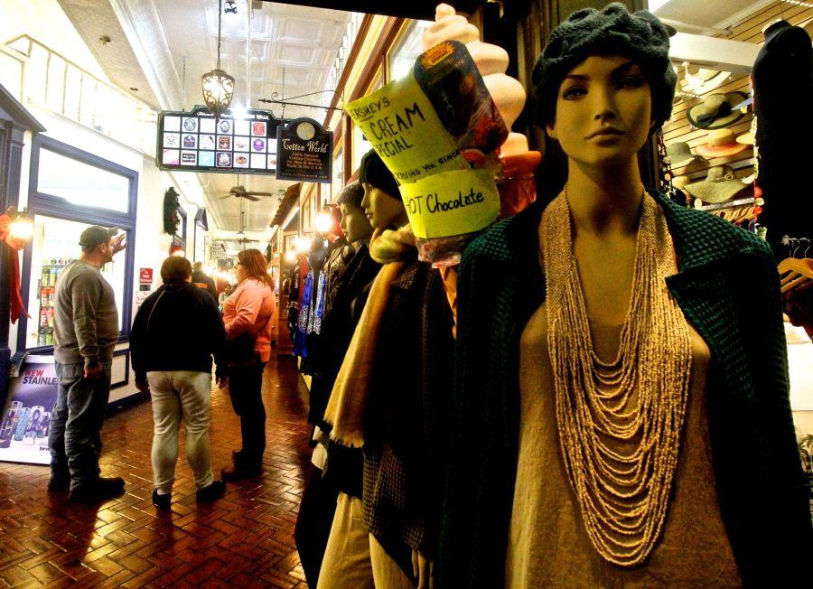 st augustine historical district mannequin