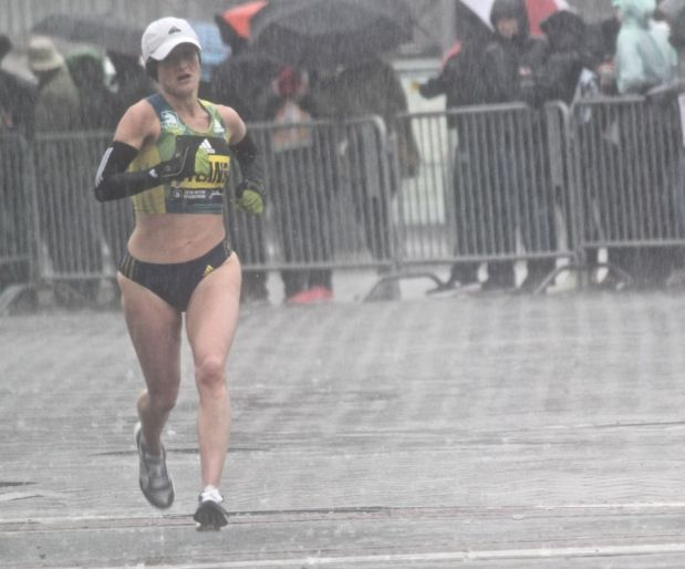 boston marathon april 16 2018 elite runner