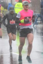 boston marathon april 16 2018 pink runner
