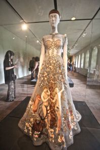 new york city metropolitan museum of art cloisters heavenly bodies 6 valentino dress