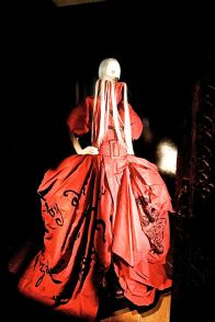 new york city metropolitan museum of art cloisters heavenly bodies 8 galliano dress