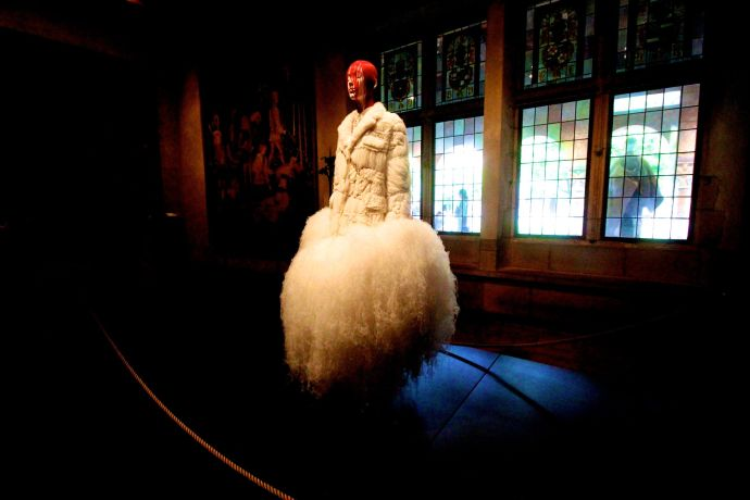 new york city metropolitan museum of art cloisters heavenly bodies 9 thom browne dress