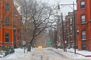 boston beacon street january 20 2019 snow 18