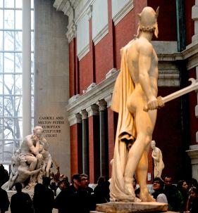 new york metropolitan museum of art petrie court statues 2