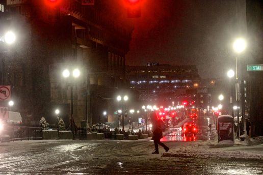 boston haymarket snow february 12 2019 state street city hall