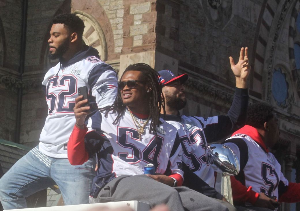 boston new england patriots super bowl celebration february 5 2019 players 3
