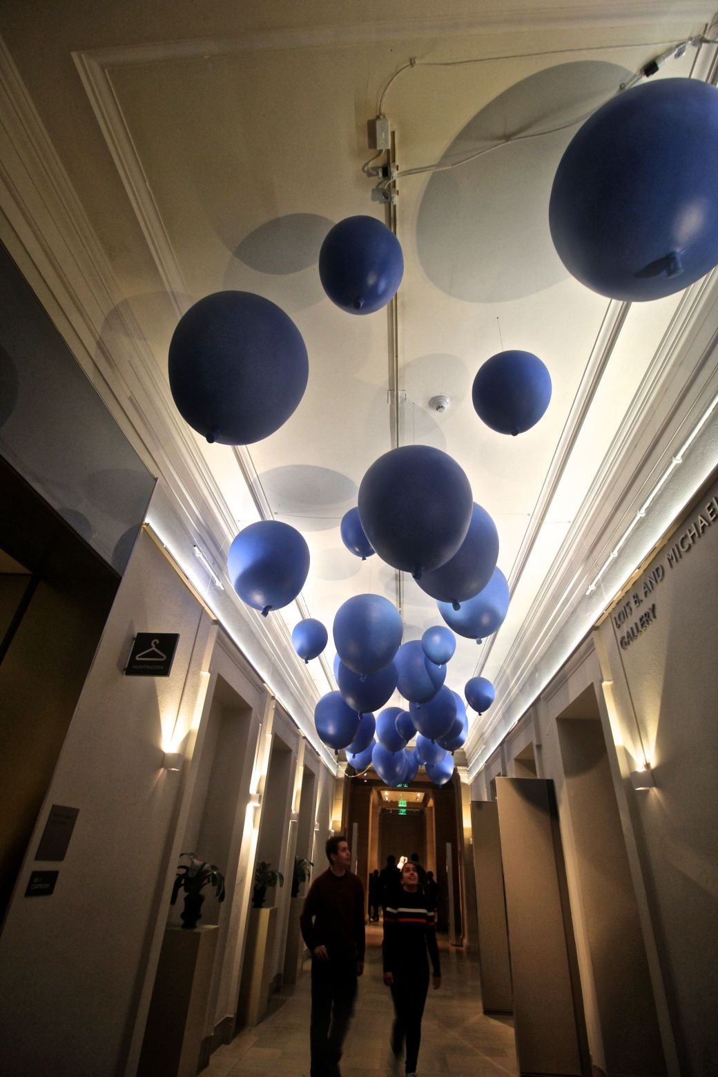 museum of fine arts balloons ceiling