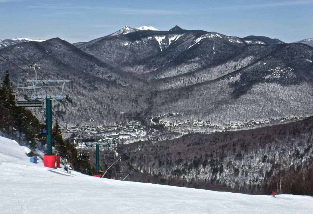 new hampshire loon ski resort mountain view
